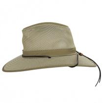 Mesh Aussie Grande Brim Fedora Hat alternate view 15
