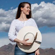 Desert Sky Shantung Straw Planter Hat alternate view 13