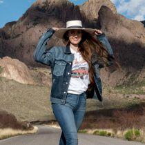 Desert Sky Shantung Straw Planter Hat alternate view 14
