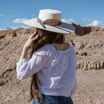 Desert Sky Shantung Straw Planter Hat alternate view 16