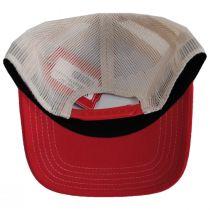 US Flag Mesh Trucker Snapback Baseball Cap alternate view 4