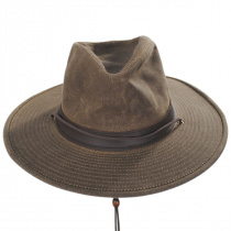 Weekend Walker Waxed Cotton Outback Hat alternate view 6