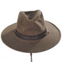 Weekend Walker Waxed Cotton Outback Hat alternate view 10