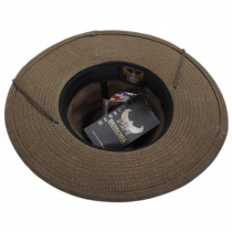 Weekend Walker Waxed Cotton Outback Hat alternate view 12