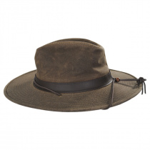 Weekend Walker Waxed Cotton Outback Hat alternate view 11