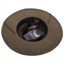Weekend Walker Waxed Cotton Outback Hat alternate view 4