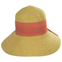 Big Bow Braided Toyo Straw Sun Hat alternate view 6