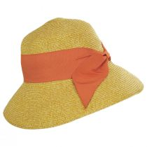 Big Bow Braided Toyo Straw Sun Hat alternate view 7