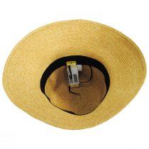 Big Bow Braided Toyo Straw Sun Hat alternate view 8