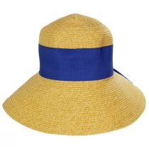 Big Bow Braided Toyo Straw Sun Hat alternate view 2