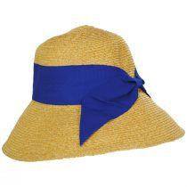 Big Bow Braided Toyo Straw Sun Hat alternate view 3