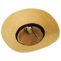 Big Bow Braided Toyo Straw Sun Hat alternate view 4