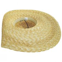 Side Button Braided Straw Swinger Hat alternate view 4
