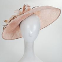 Tacitus Sinamay Straw Fascinator/Hatinator alternate view 3