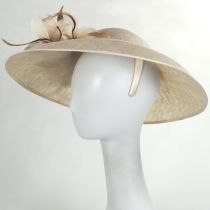 Tacitus Sinamay Straw Fascinator/Hatinator alternate view 6
