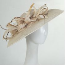 Tacitus Sinamay Straw Fascinator/Hatinator alternate view 8