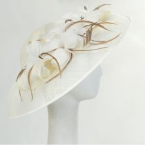 Tacitus Sinamay Straw Fascinator/Hatinator alternate view 12