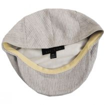Slim Striped Linen Ivy Cap alternate view 8