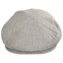 Slim Striped Linen Ivy Cap alternate view 10