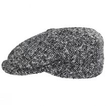 Skully Marl Tweed Wool Newsboy Cap alternate view 7
