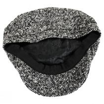 Skully Marl Tweed Wool Newsboy Cap alternate view 8