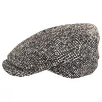 Skully Marl Tweed Wool Newsboy Cap alternate view 3