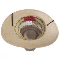 Milan Laminated Toyo Straw Safari Hat alternate view 32
