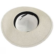 Two Tone Sailor Knot Straw Sun Hat alternate view 8