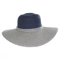 Two Tone Sailor Knot Straw Sun Hat alternate view 2