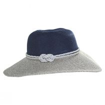 Two Tone Sailor Knot Straw Sun Hat alternate view 3