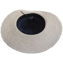 Two Tone Sailor Knot Straw Sun Hat alternate view 4