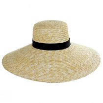 Braided Straw Lampshade Sun Hat alternate view 2