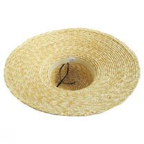 Braided Straw Lampshade Sun Hat alternate view 4