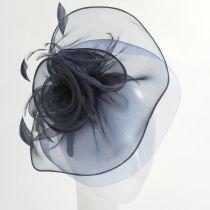 Cloverleaf Organza Mesh Fascinator Headband alternate view 22