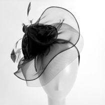 Cloverleaf Organza Mesh Fascinator Headband alternate view 3