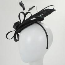 Chelmsford Sinamay Straw Fascinator Hat alternate view 4