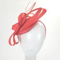 Chelmsford Sinamay Straw Fascinator Hat alternate view 3