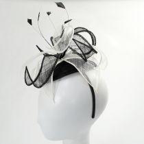 Vekoma Sinamay Straw Fascinator Hat alternate view 4