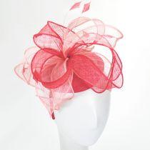 Vekoma Sinamay Straw Fascinator Hat alternate view 10