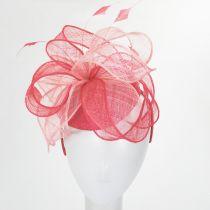 Vekoma Sinamay Straw Fascinator Hat alternate view 11