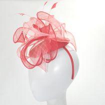 Vekoma Sinamay Straw Fascinator Hat alternate view 12