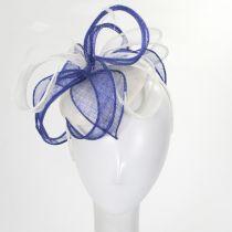 Vekoma Sinamay Straw Fascinator Hat alternate view 7