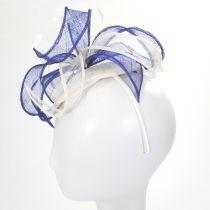 Vekoma Sinamay Straw Fascinator Hat alternate view 8