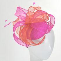 Vekoma Sinamay Straw Fascinator Hat alternate view 14