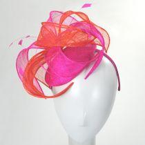 Vekoma Sinamay Straw Fascinator Hat alternate view 15