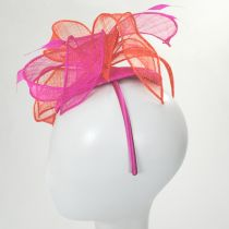Vekoma Sinamay Straw Fascinator Hat alternate view 16