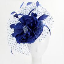 Alexandria Sinamay Straw Fascinator Hat alternate view 2