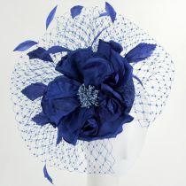 Alexandria Sinamay Straw Fascinator Hat alternate view 3