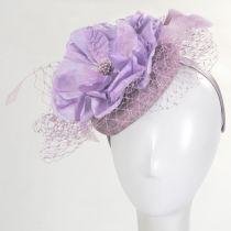 Alexandria Sinamay Straw Fascinator Hat alternate view 7