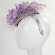 Alexandria Sinamay Straw Fascinator Hat alternate view 8